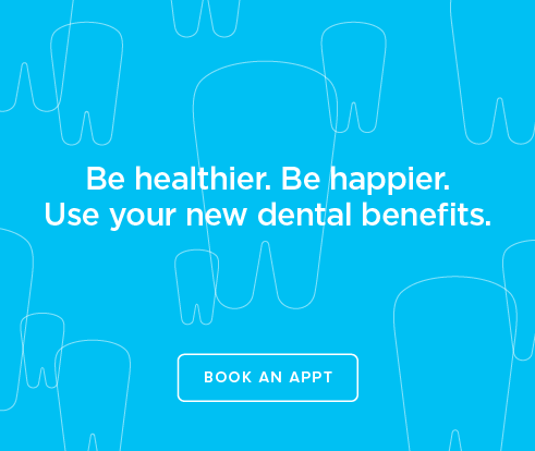 Be Heathier, Be Happier. Use your new dental benefits. - Valencia Dental Group at Copper Hill